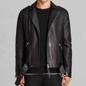 """All Saints L """"Kaho"""" leather jacket"""